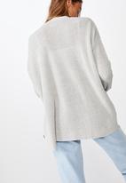 Cotton On - Archy cardi 2 - grey