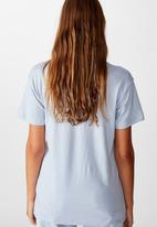 Cotton On - Classic slogan T-shirt kinder spirit - blue