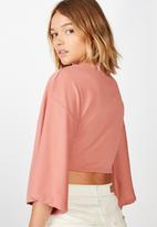 Cotton On - Jude kimono sleeve top - canyon rose