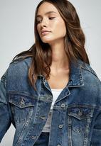 Cotton On - Os denim jacket - vintage blue