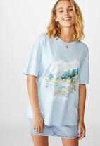 Cotton On - The original graphic tee alpine country - blue