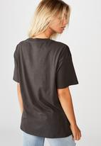 Cotton On - The original graphic tee North Valley - washed black
