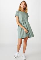 Cotton On - Tina babydoll T-shirt dress - green