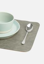 Modern Easy  - The placemat - charcoal
