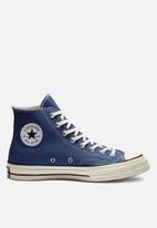 Converse - Chuck 70 hi - true navy/black/egret