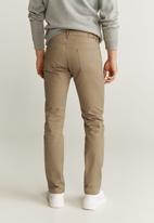 MANGO - Pisa6 trousers - medium brown