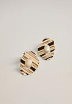 MANGO - Earrings nolita - gold