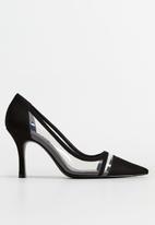 MANGO - Daisy heel - black