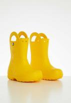 Crocs - Handle it rain boot kids - yellow