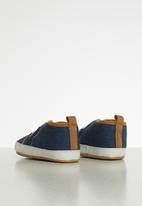 POP CANDY - Contrast sneaker - blue