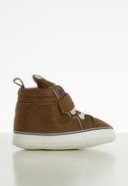 POP CANDY - Hi top baby sneaker - brown