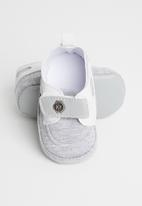 POP CANDY - Button strap shoes - grey