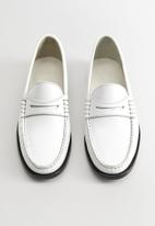 MANGO - Ted loafer - white