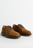 MANGO - Leolight suede shoes - brown