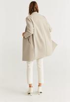 MANGO - Gala coat - beige