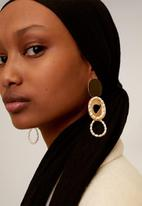 MANGO - Earrings irina - gold