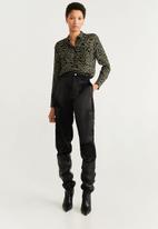 MANGO - Long sleeve shirt - multi