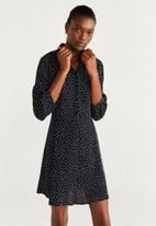 MANGO - Dress carrie - black