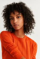 MANGO - Sweater lucca - orange