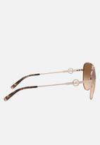 Michael Kors Eyewear - Salina sunglasses - rose gold
