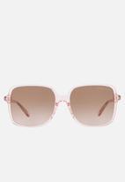 Michael Kors - Isle of palms sunglasses - transparent pink