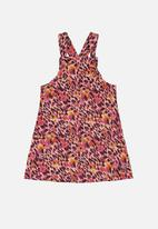 Quimby - Pinafore dress & blouse set - multi