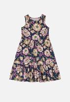 Quimby - Dress & shrug set - multi
