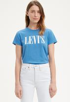 Levi's® - The perfect tee tall serif - blue
