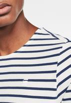 G-Star RAW - Xarrtto short sleeve tee - white & blue
