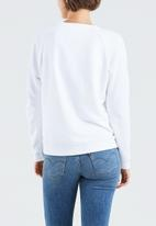 Levi's® - Relaxed graphic batwing crew - white