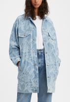 Levi's® - Levi's® Made & Crafted® the palmer overcoat - blue