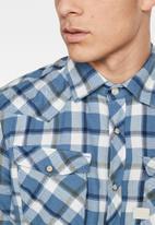 G-Star RAW - 3301 slim shirt long sleeve - selft sali check