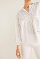 MANGO - Shirt ivet - white