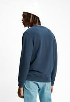 Levi's® - Crew logo colourblock sweatshirt - navy