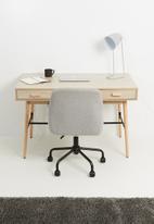 Sixth Floor - Cross desk - natural