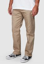 RVCA - The weekend stretch pant - brown