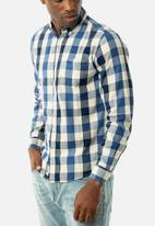 JEEP - Check regular fit shirt - multi