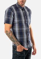 JEEP - Check short sleeve shirt - multi
