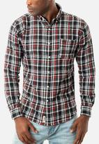 JEEP - Super flannel check long sleeve shirt - multi