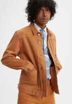 Levi's® - Levi's® Made & Crafted® type ii worn trucker jacket - brown