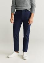 MANGO - Prato trousers - navy