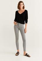 MANGO - Printed leggings - grey