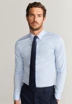 MANGO - Joan shirt - light pastel blue