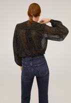 MANGO - Shirt prarie - black