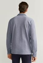 MANGO - Regat polo shirt - blue