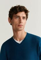 MANGO - Tenv sweater - blue