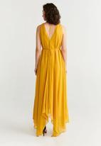 MANGO - Dress kinder - yellow