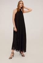 MANGO - Dress opalo-a - black