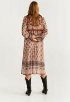MANGO - Long sleeve dress - mutli