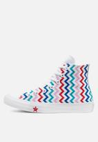 Converse - Chuck Taylor All Star VLTG Hi - white/university red - back to earth